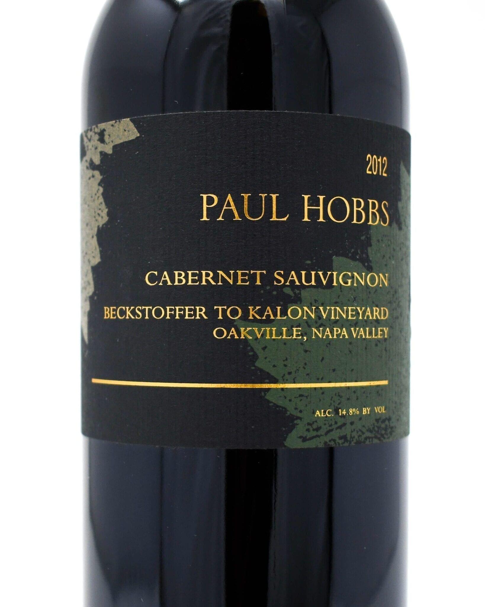 Paul Hobbs, Beckstoffer To Kalon, Cabernet Sauvignon