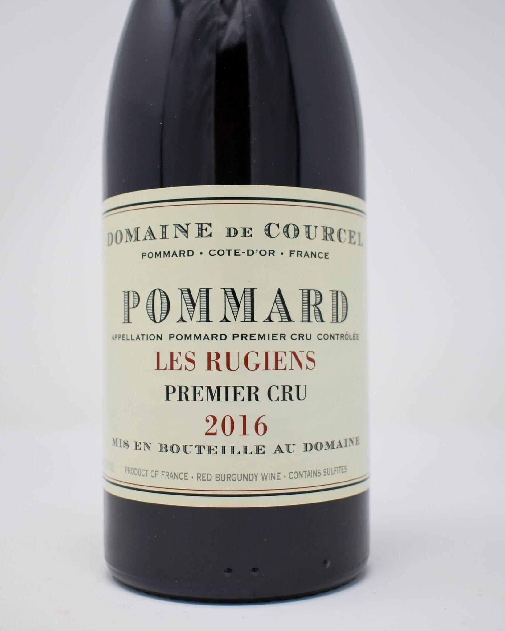 Domaine de Courcel, Pommard, Les Rugiens, Premier Cru Burgundy