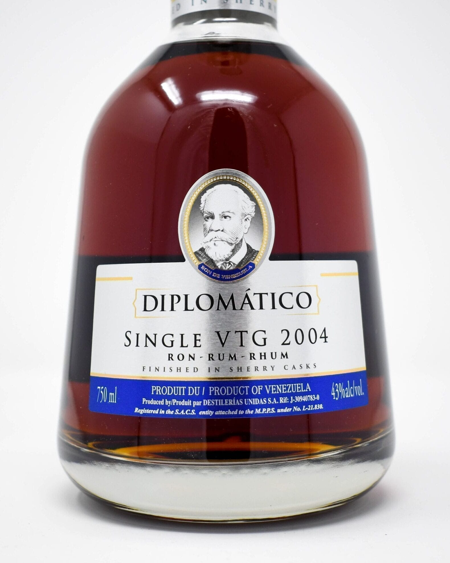 Diplomatico Rum, Single Vintage 2004