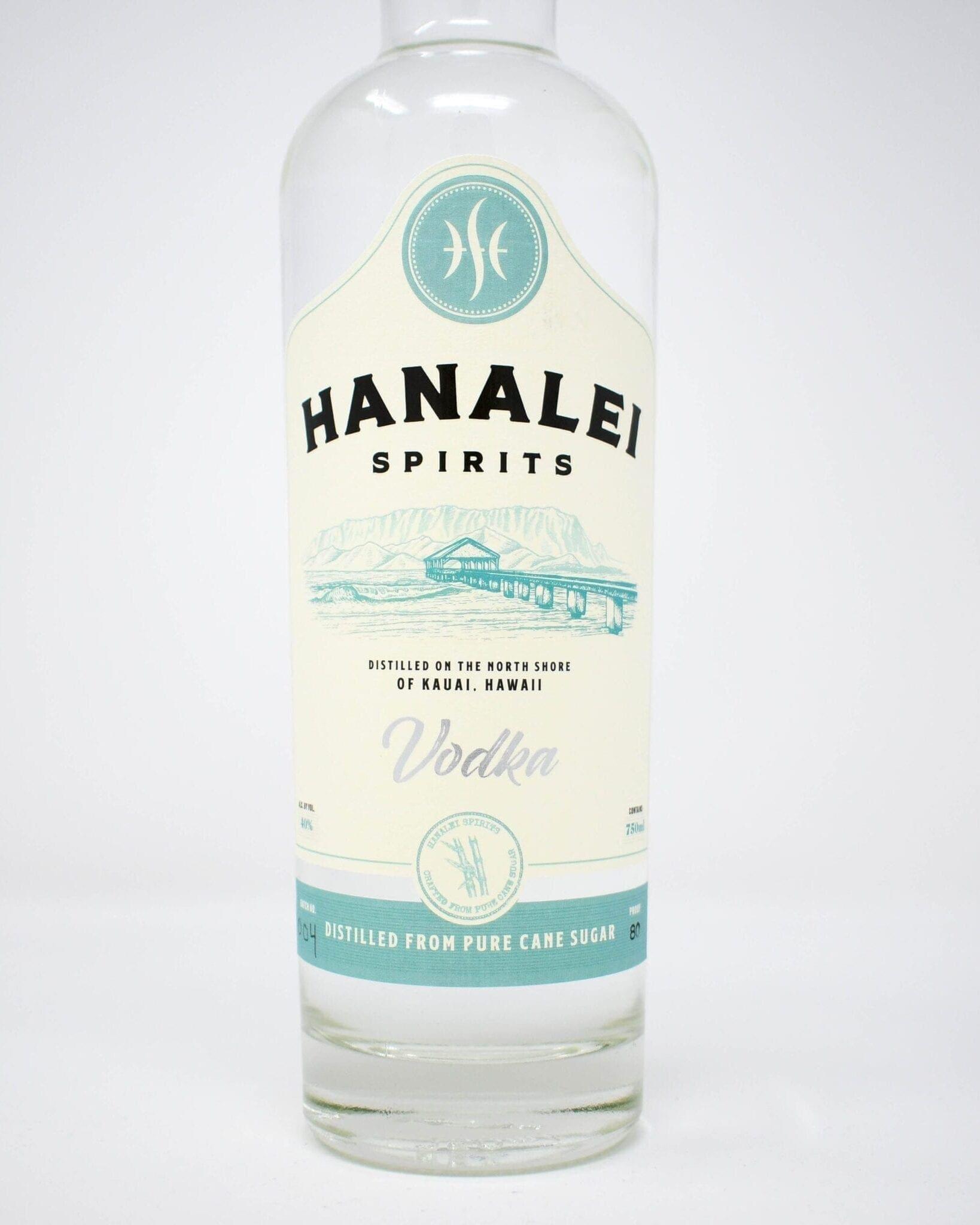 Hanalei Spirits Vodka 750ml