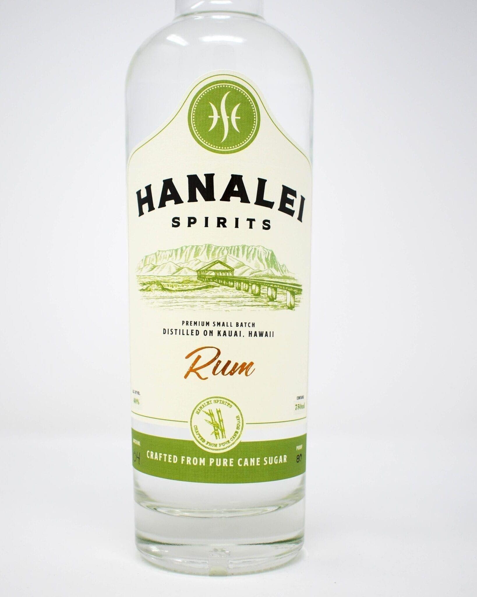 Hanalei Spirits White Rum 750ml