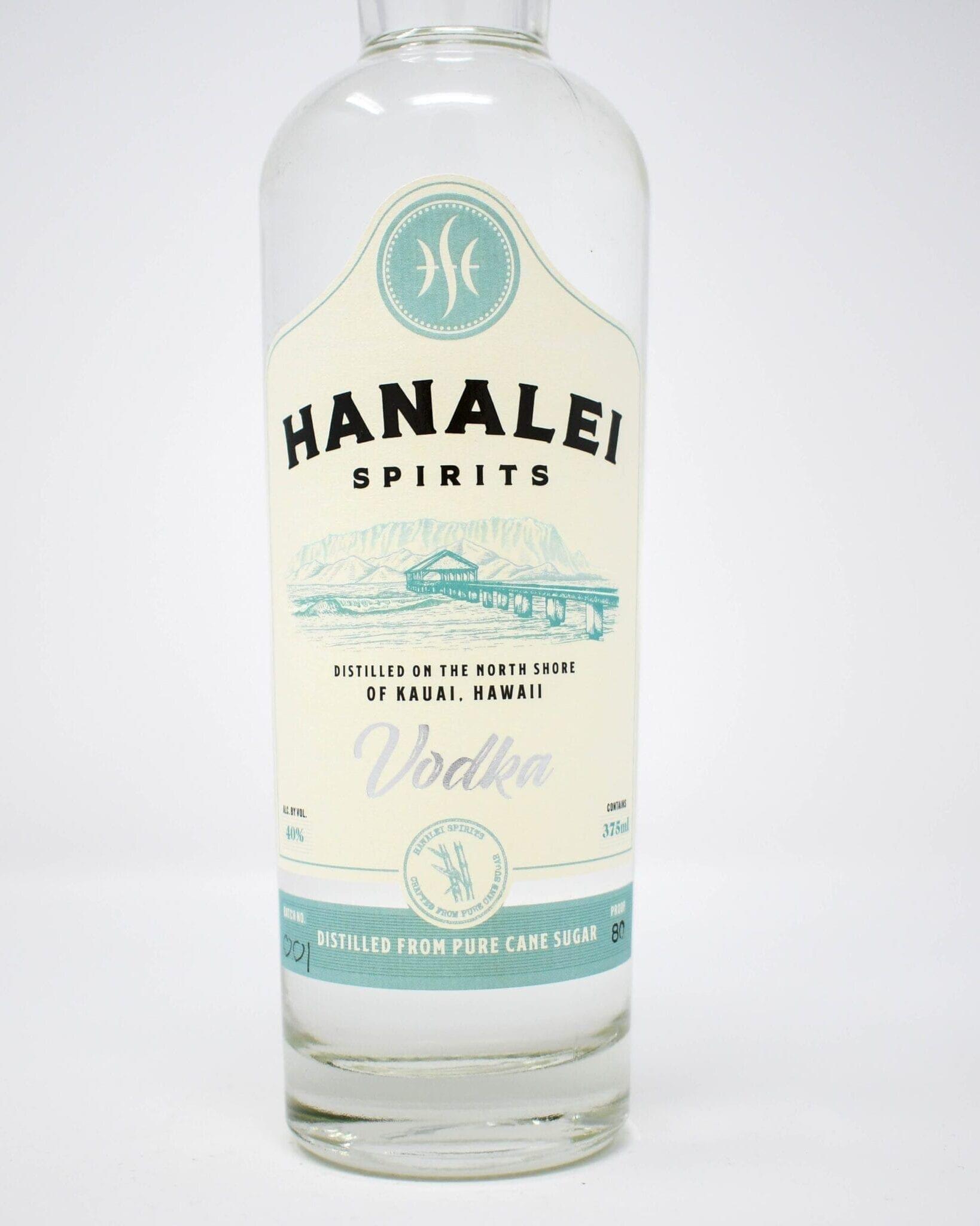 Hanalei Spirits Vodka 375ml