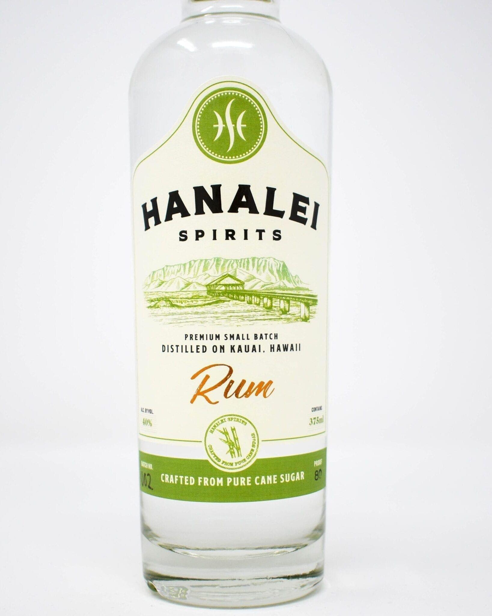 Hanalei Spirits White Rum 375ml