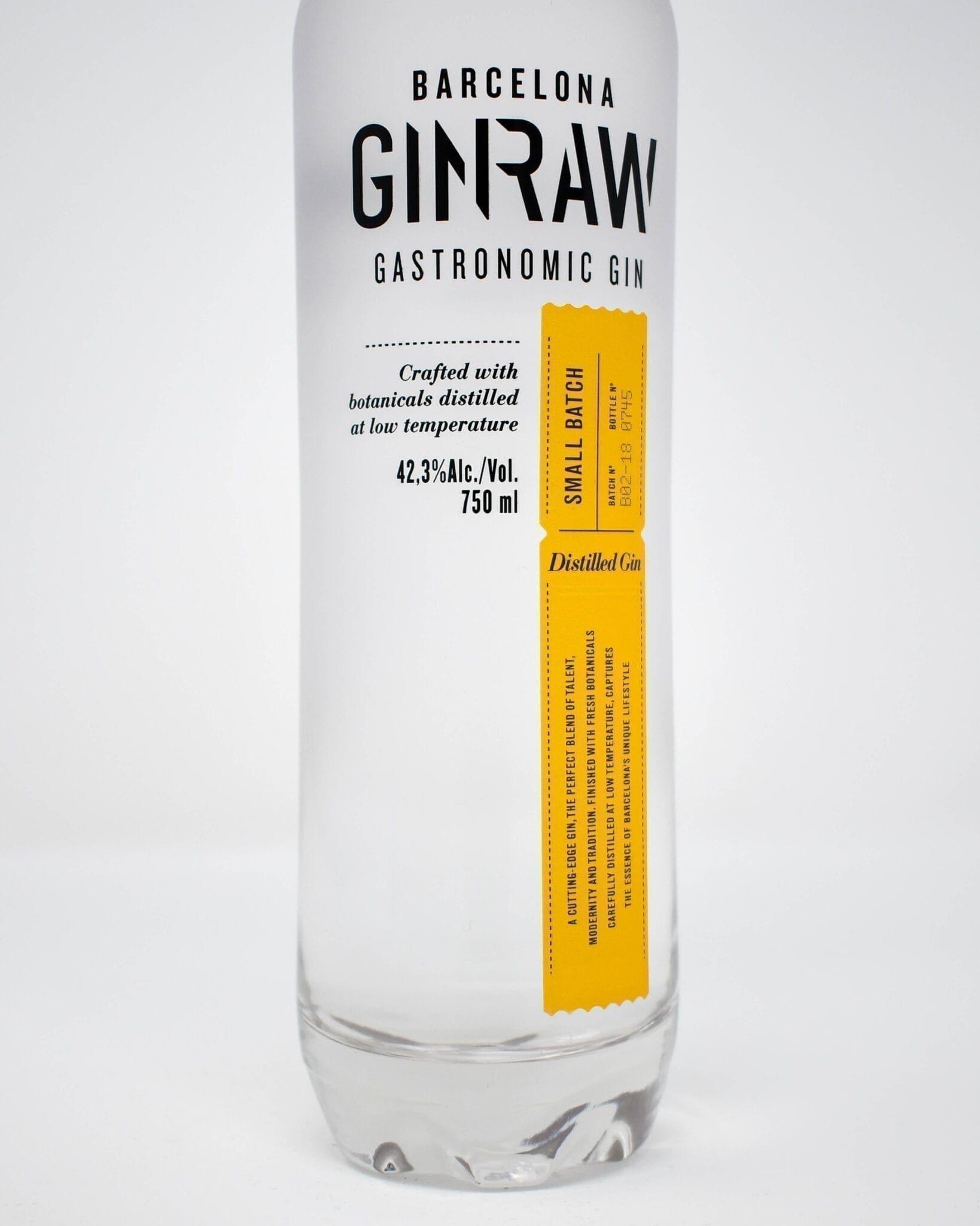 GINRAW, Gastronomic Gin