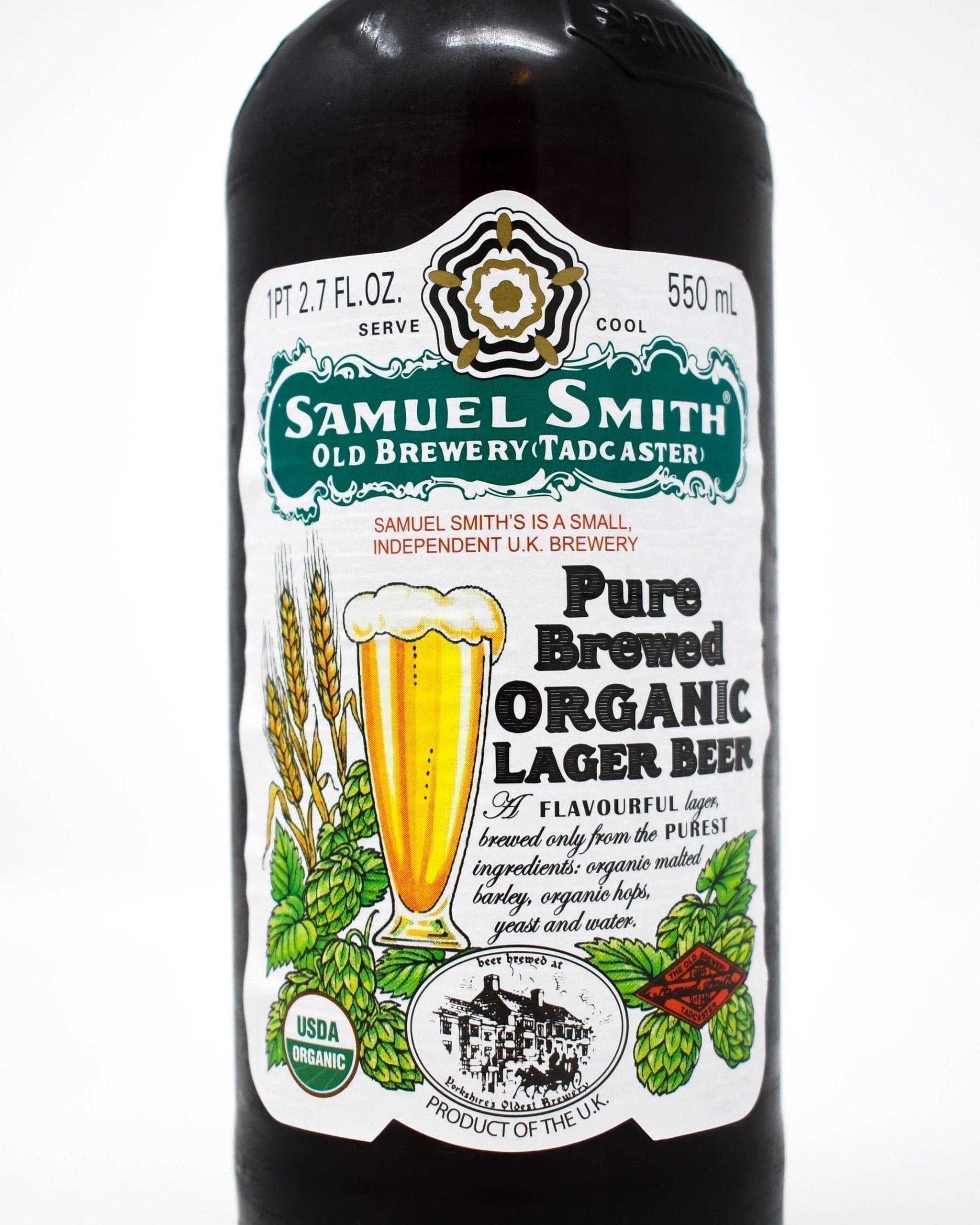 Samuel Smith Lager Bottle