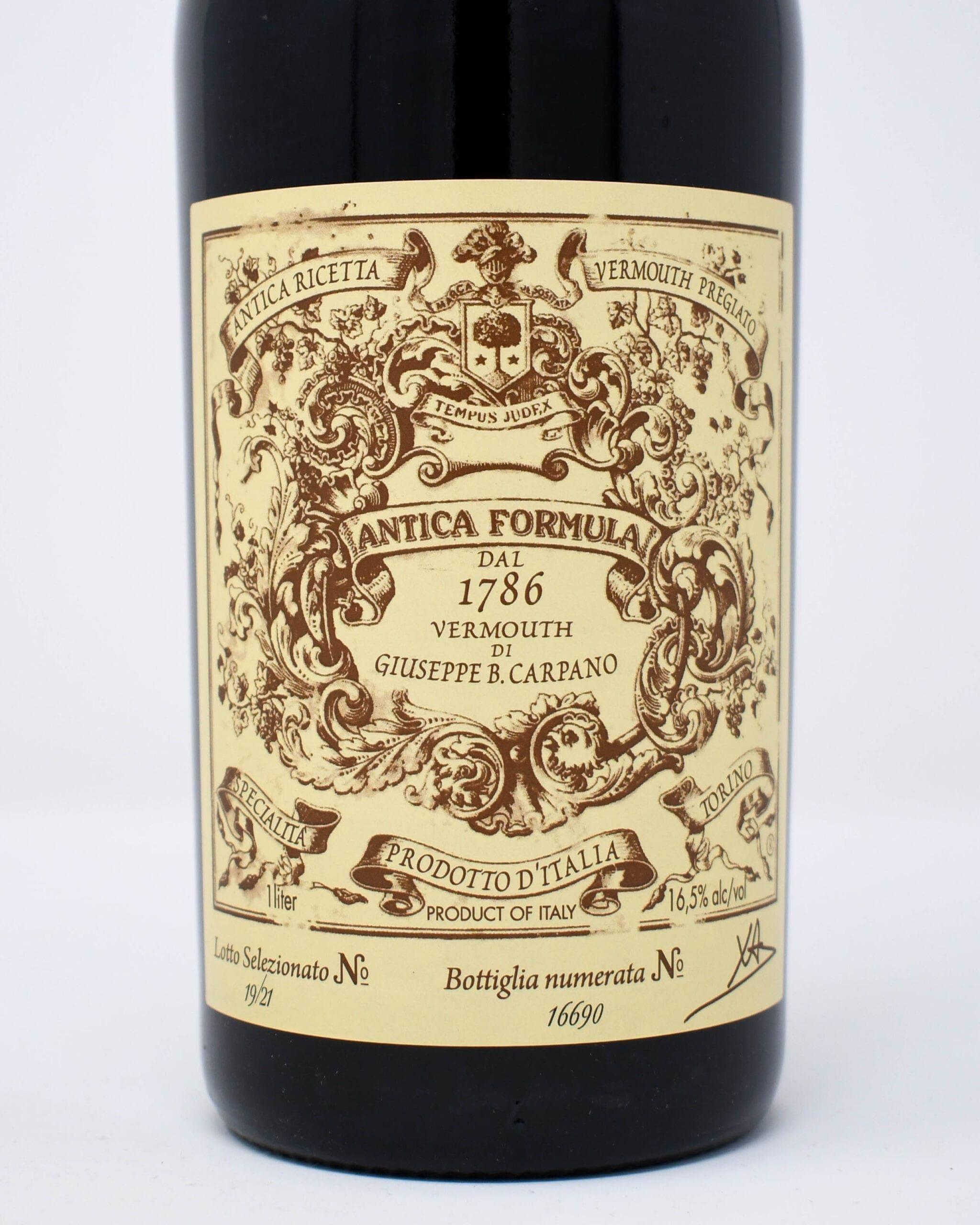 Antica Formula Vermouth 1 Liter