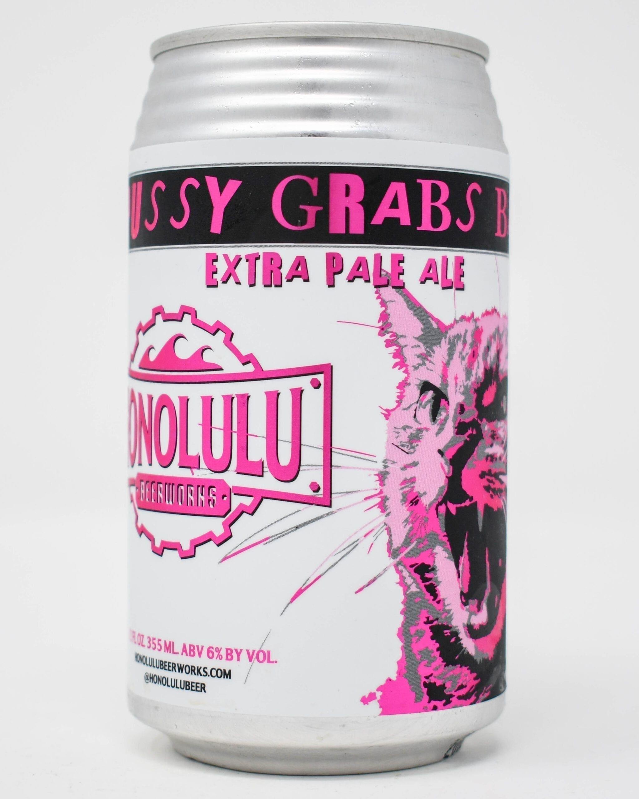 Honolulu Beerworks, Pussy Grabs Back, Extra Pale Ale
