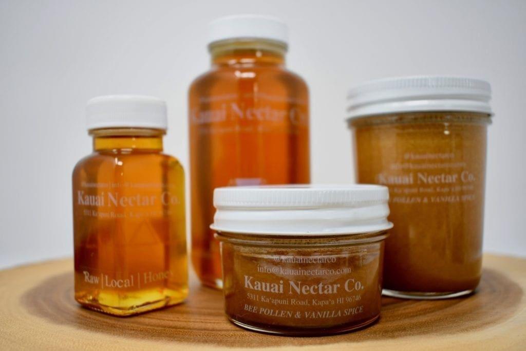 Showcasing Kauai Nectar Co., a local gourmet food item