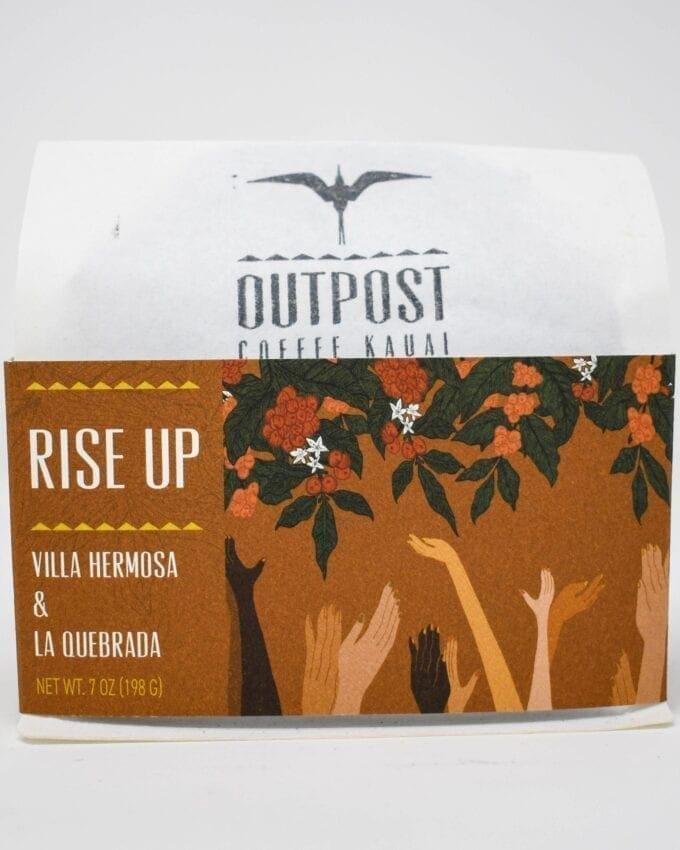 Outpost Coffee Kauai. Rise Up, Villa Hermosa & La Quebrada