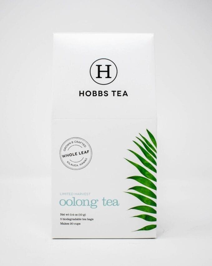 Hobbs Oolong Tea Box