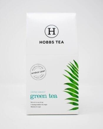 Hobbs Green Tea Box