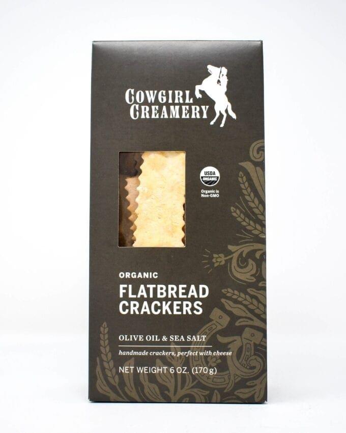 Cowgirl Creamery, Organic Flatbread Crackers