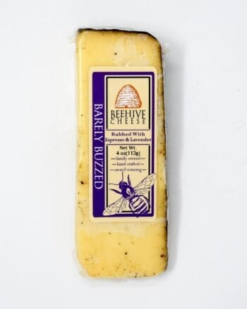 Beehive Cheese Co., Barely Buzzed 4oz