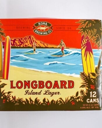 Kona Brewing Longboard Island Lager 12 pack Cans