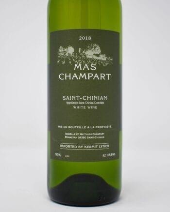 Mas Champart Saint Chinian 2018