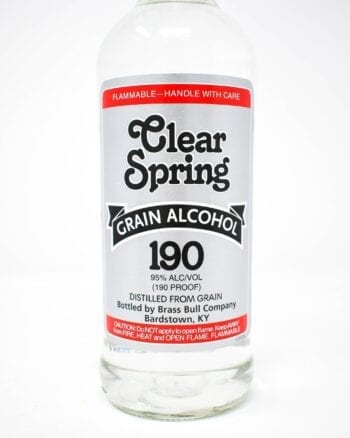 Clear Springs Grain Alcohol, 190 Proof