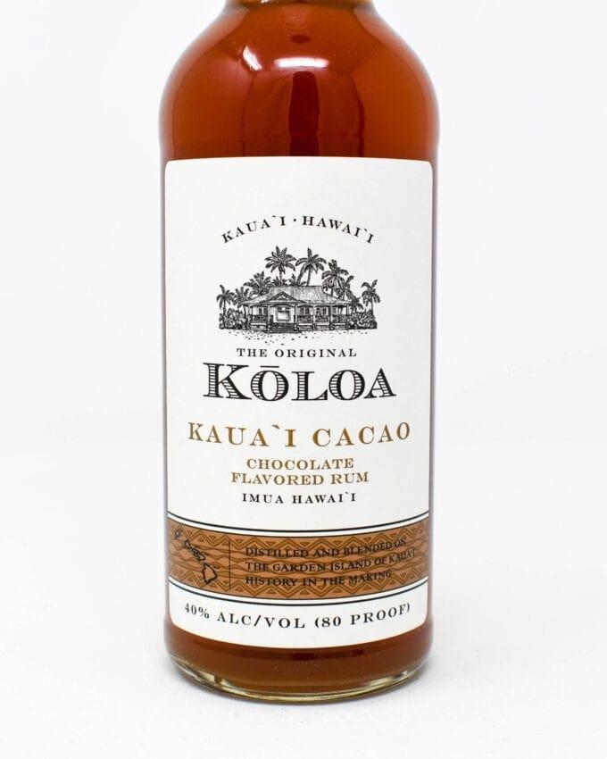 Koloa Rum, Kauai Cacao, 375ml