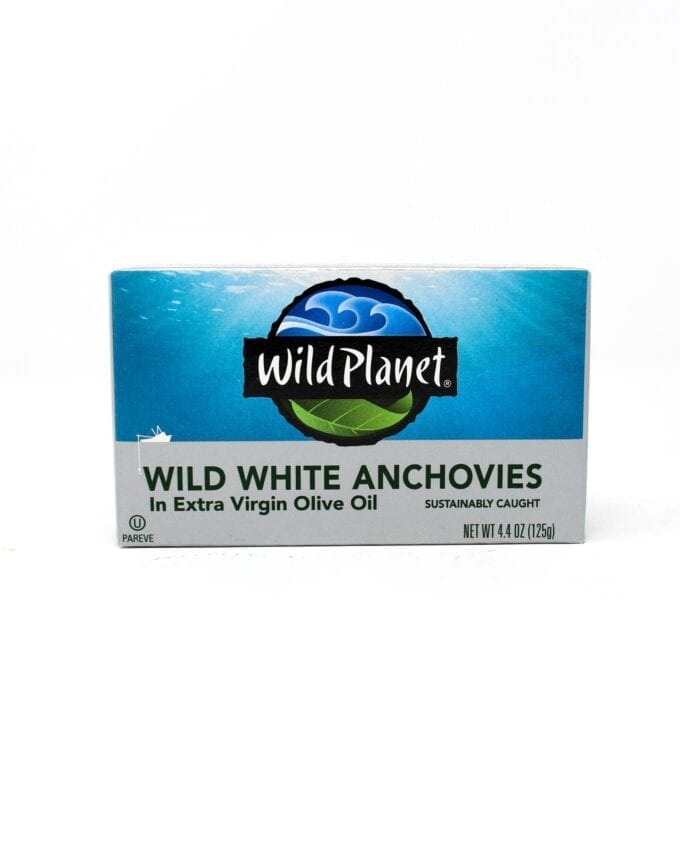 Wild Planet, Wild White Anchovies in olive oil
