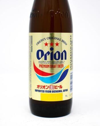 Orion Draft beer 12oz bottles