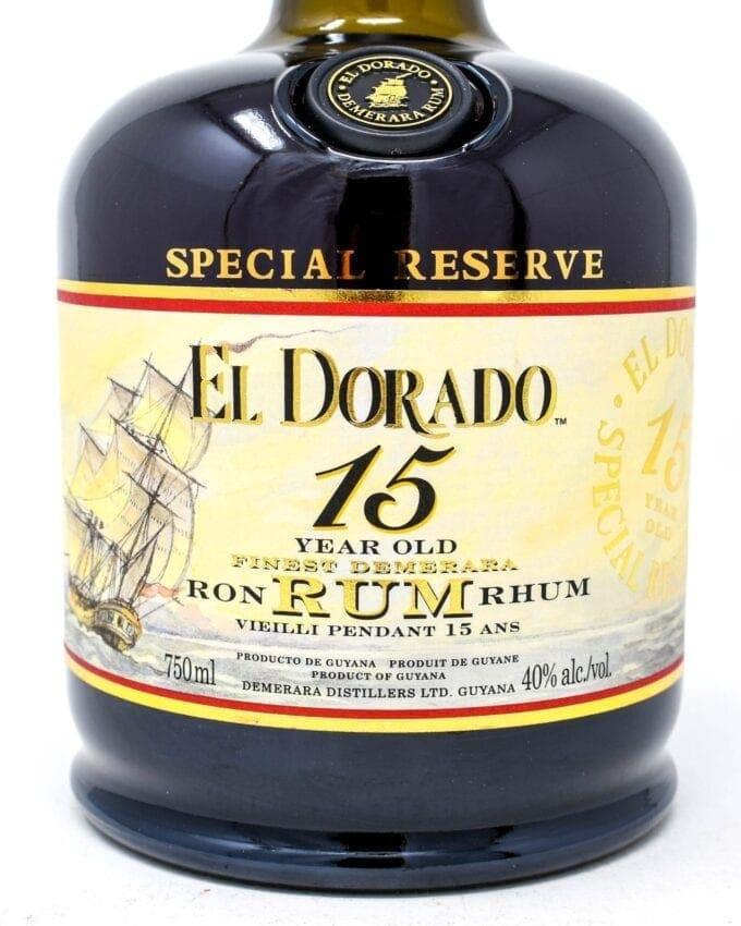 El Dorado 15yr Rum