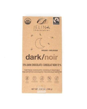 Jelina Chocolate, 72% dark