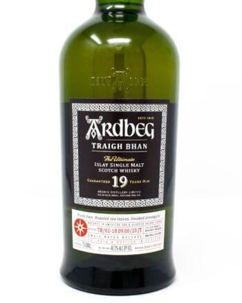 Ardbeg, Traigh Bhan, 19 years old Scotch