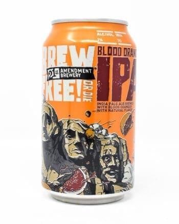 Brew Free or Die Blood Orange IPA