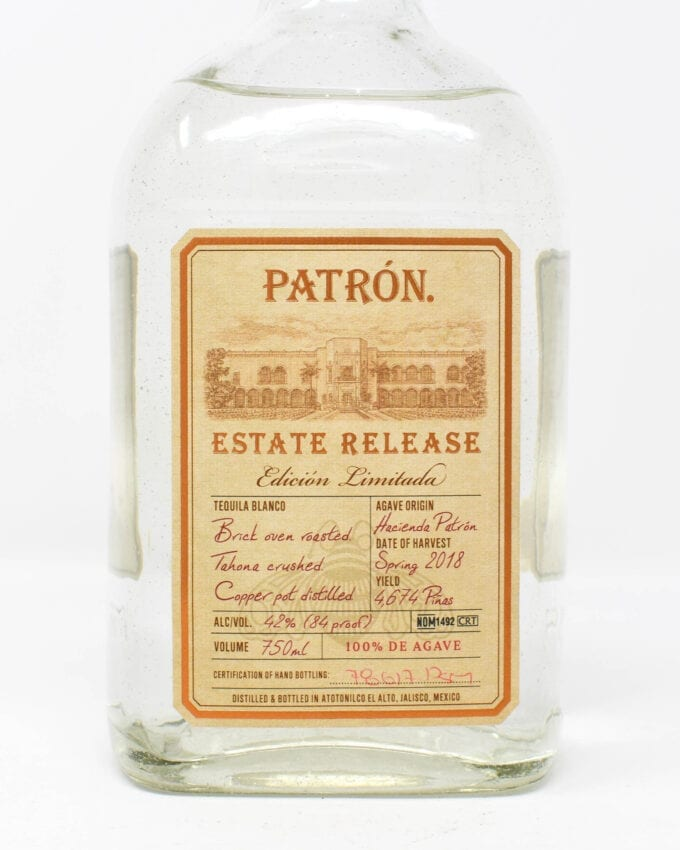 Patron Estate Tequila Blanco