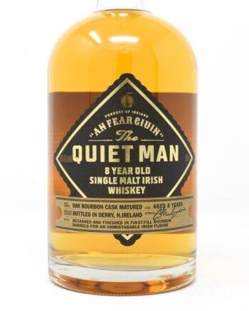 Quiet Man Irish Whiskey 8 Year Old