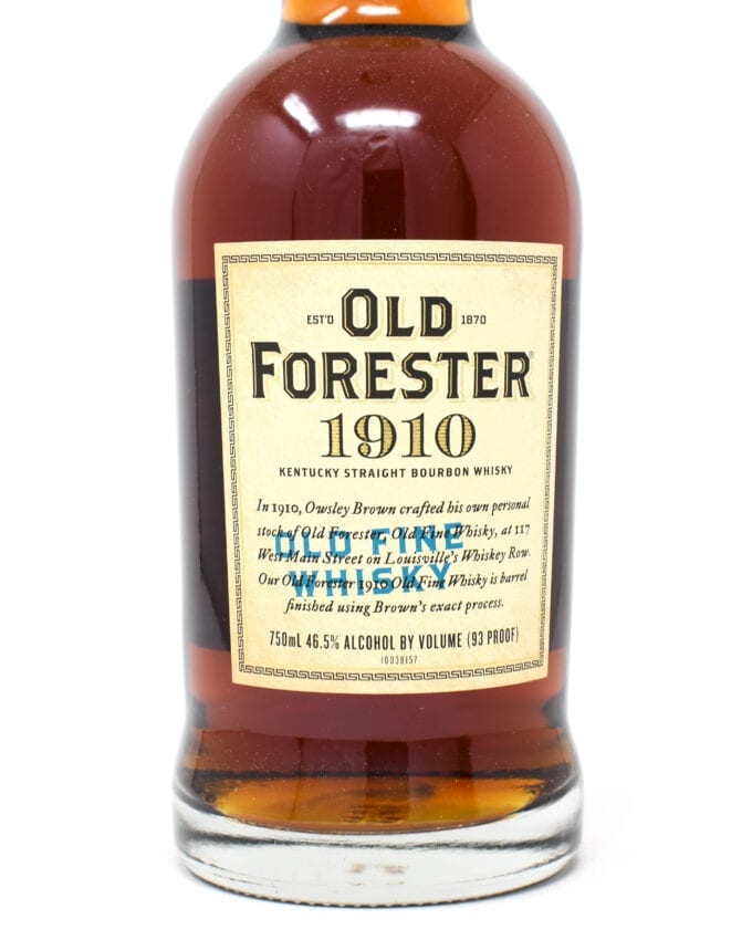 Old Forester 1910 Bourbon