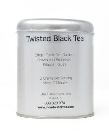 Cloudwater Twisted Black Tea Tin