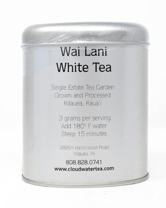 Cloudwater Wai Lani White Tea Tin