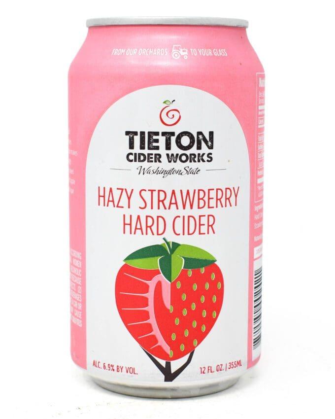 Tieton Hazy Strawberry Hard Cider