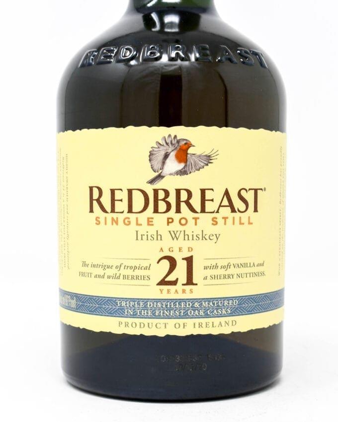 Red Breast Aged 21 Years Single Pot Still Irish Whiskey
