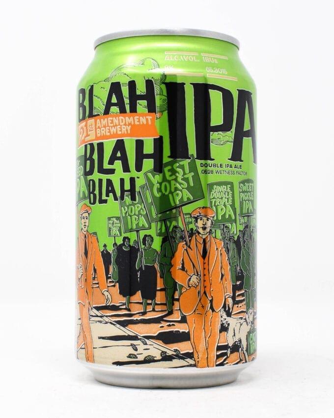 21st Amendment Brewery Blah Blah Blah Double IPA