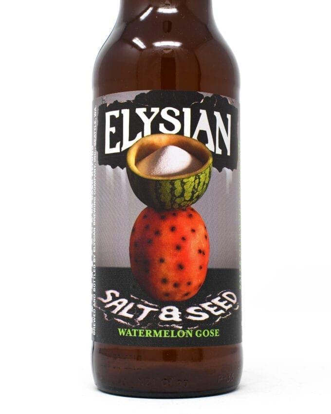 Elysian Salt and Seed Watermelon Gose Beer