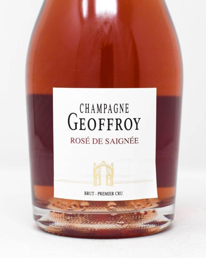 Champagne Geoffroy Rose de Saignee Brut Premier Cru