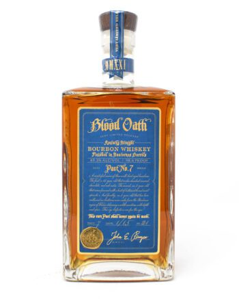 Blood Oath, Pact No. 7, Bourbon