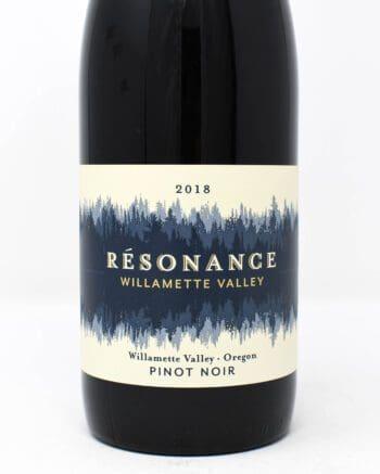 Resonance, Pinot Noir, Willamette Valley 2018
