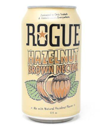 Rogue, Hazelnut Brown Nectar, 12oz Can
