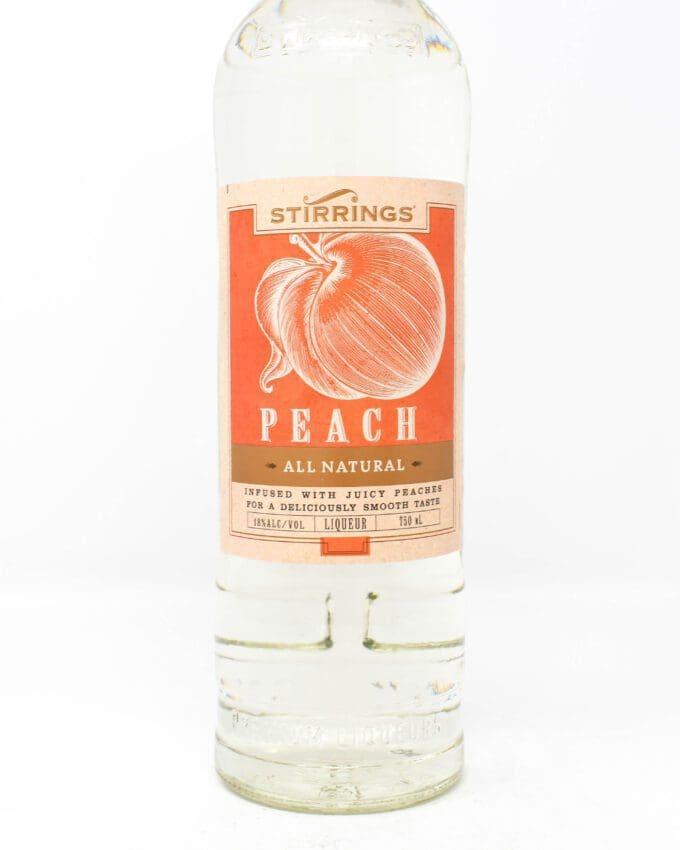 Stirrings Peach Liqueur