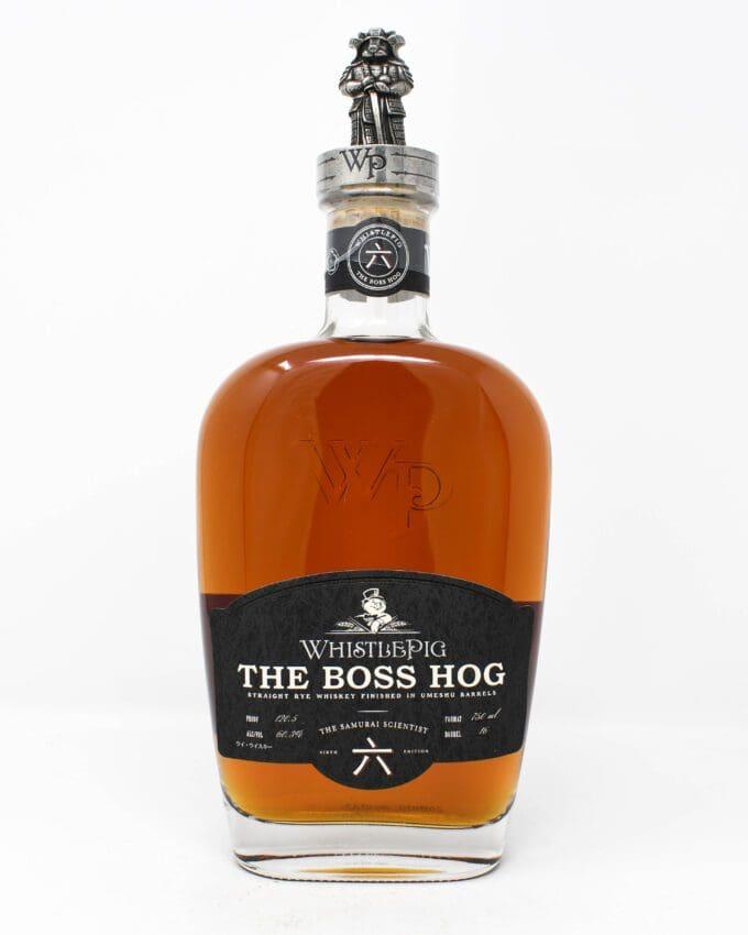 WhistlePig, The Boss Hog, The Samurai Scientist, Rye Whiskey