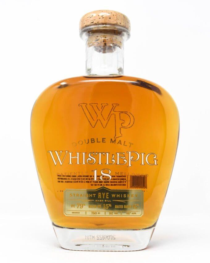 WhistlePig, Double Malt, 18 Year Rye