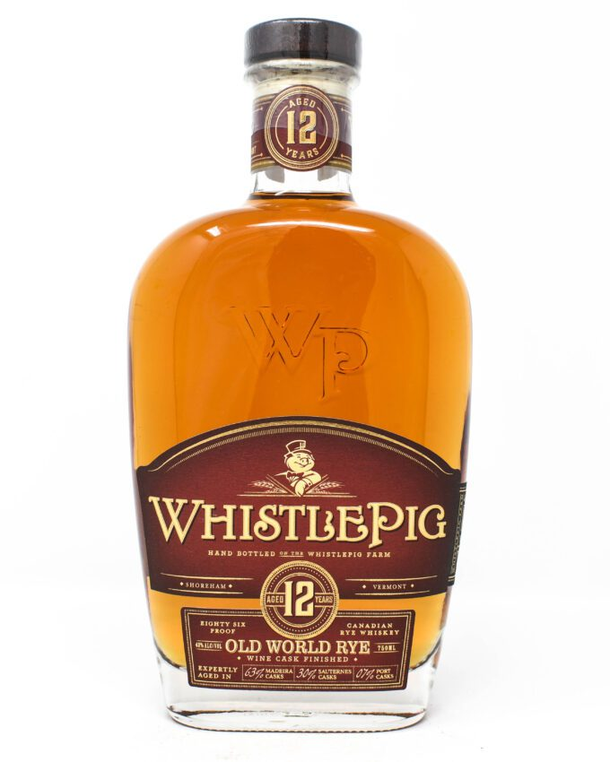 WhistlePig, Old Works Rye, Aged 12 Years
