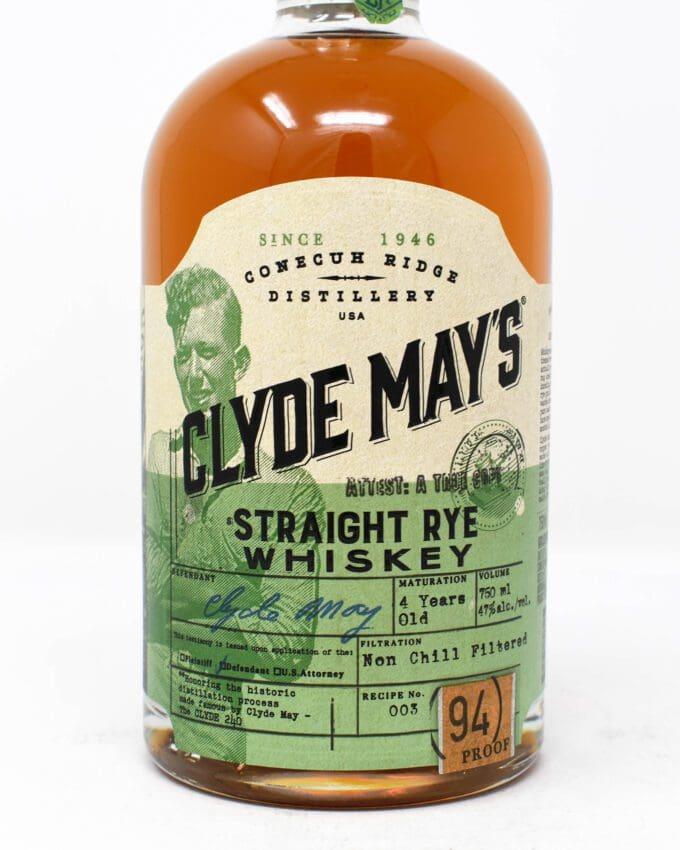 Clyde Mays Straight Rye Whiskey