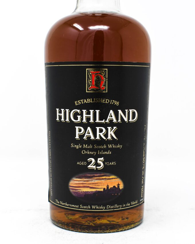 Highland Park, Aged 25 Years, Scotch Whiskey