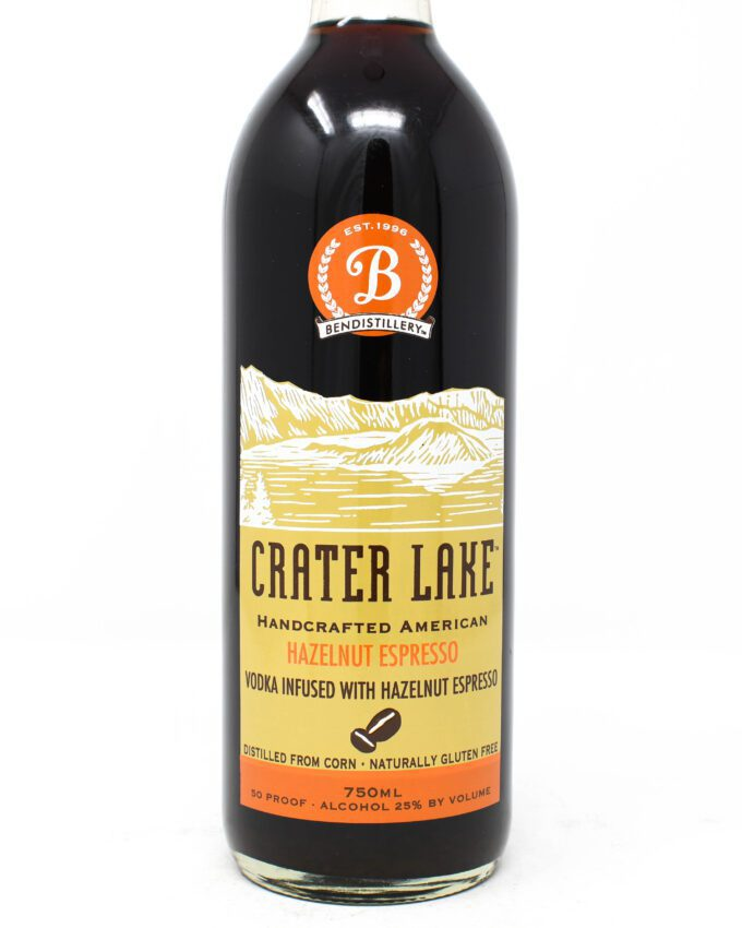 Crater Lake Hazelnut Espresso Liqueur