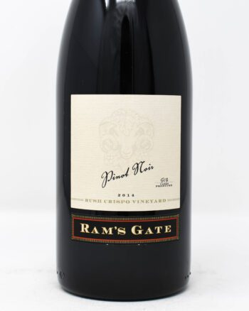 Ram's Gate, Bush Crispo, Pinot Noir