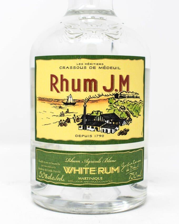 Rhum JM, White Rum from Martinique