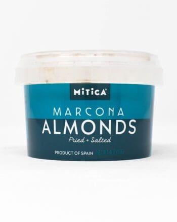 Mitica Marcona Almonds, Fried & Salted, 4oz Tub